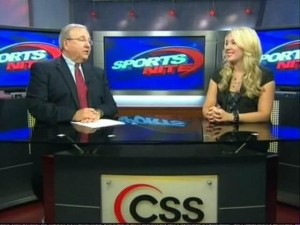 Kristi on Comcast Sports Southeast